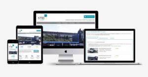 Un nouveau site web pour STED Transport !