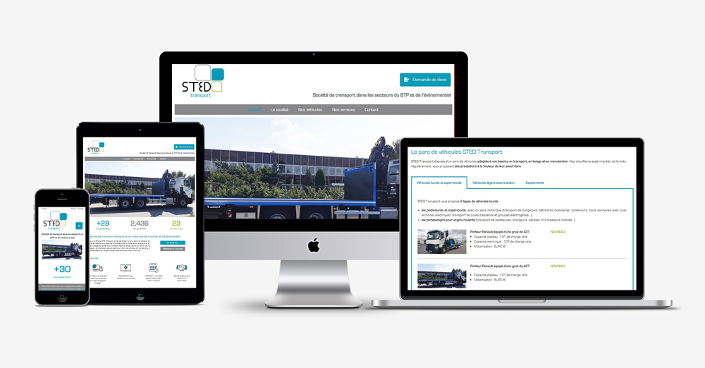 responsive-stedtransport