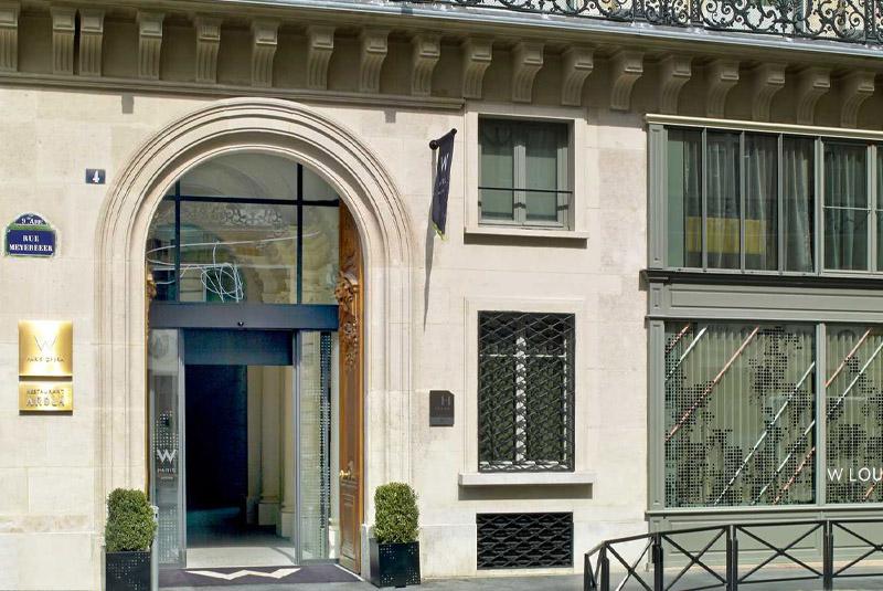 L'Hôtel W Paris-Opéra fait confiance à ALTO BATIMENT
