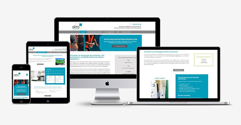 Un nouveau site web pour Alto Assainissement !